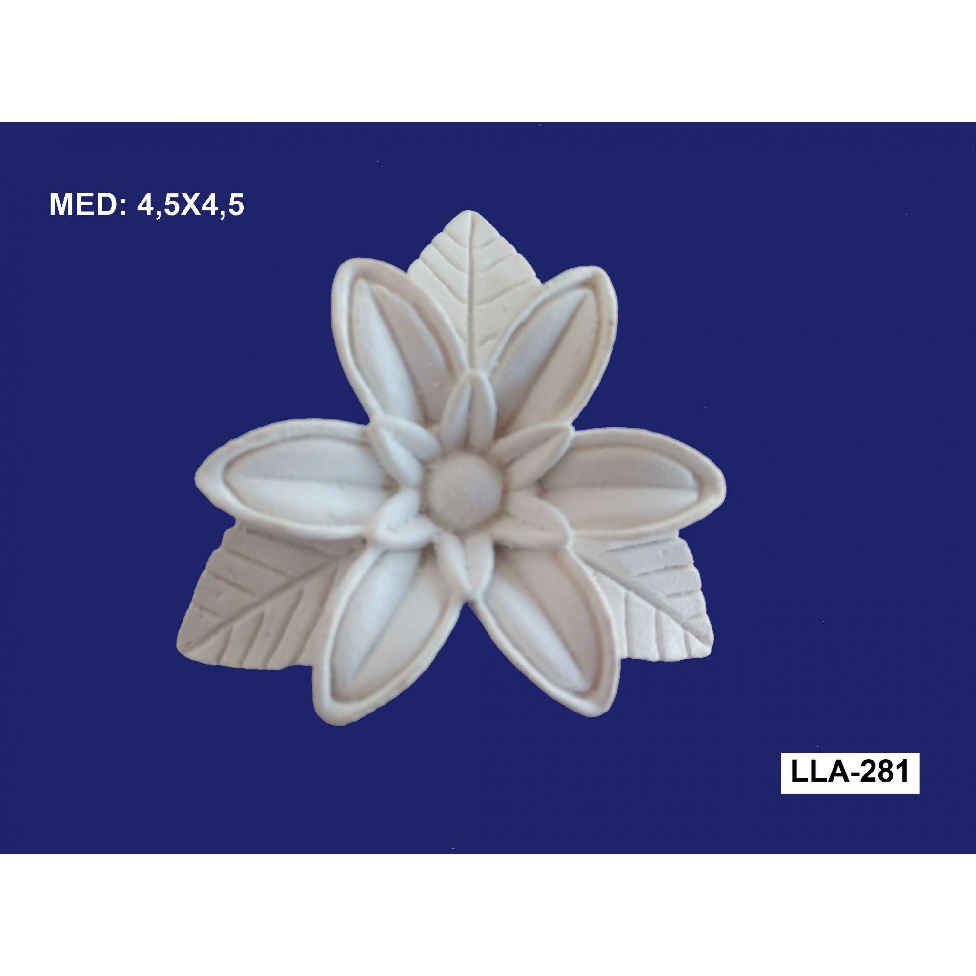 LLA-281 APLIQUE FLOR 4,5X4,5CM
