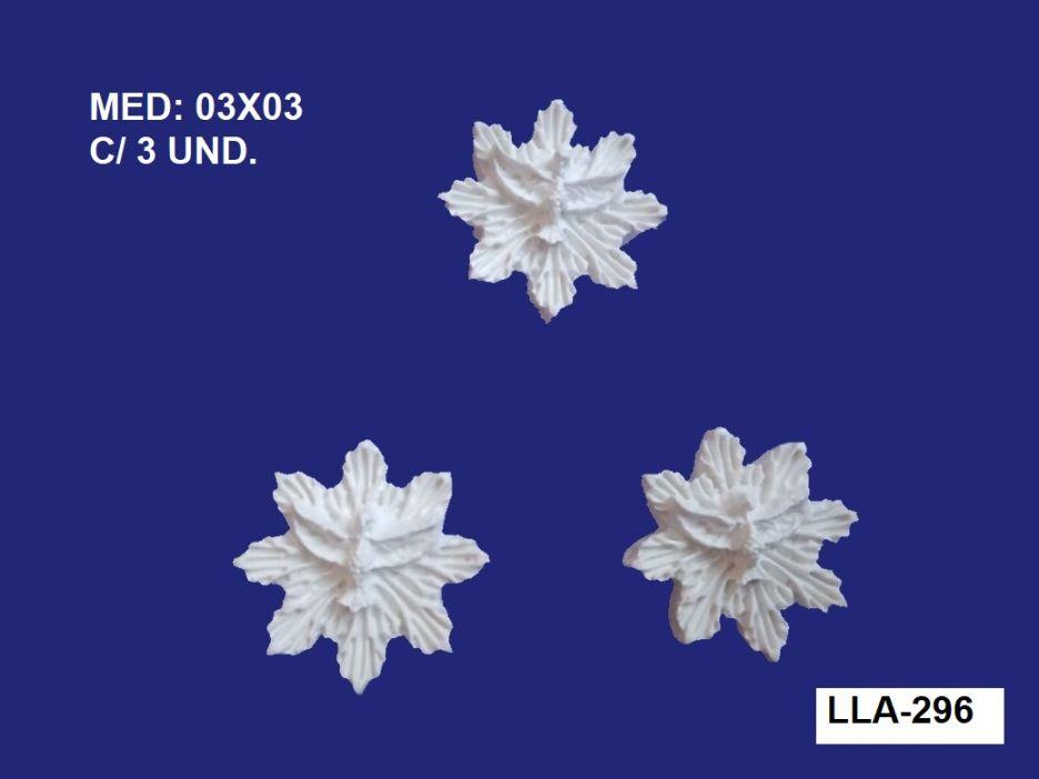 LLA-296 APLIQUE DIVINO C/ RAIO PEQ. 03X03CM C/ 3 UND.
