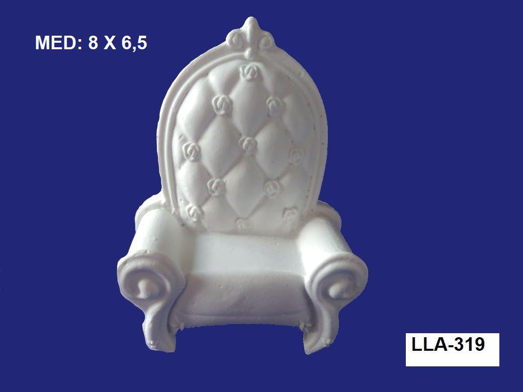 LLA-319 APLIQUE POLTRONA 8X6,5CM