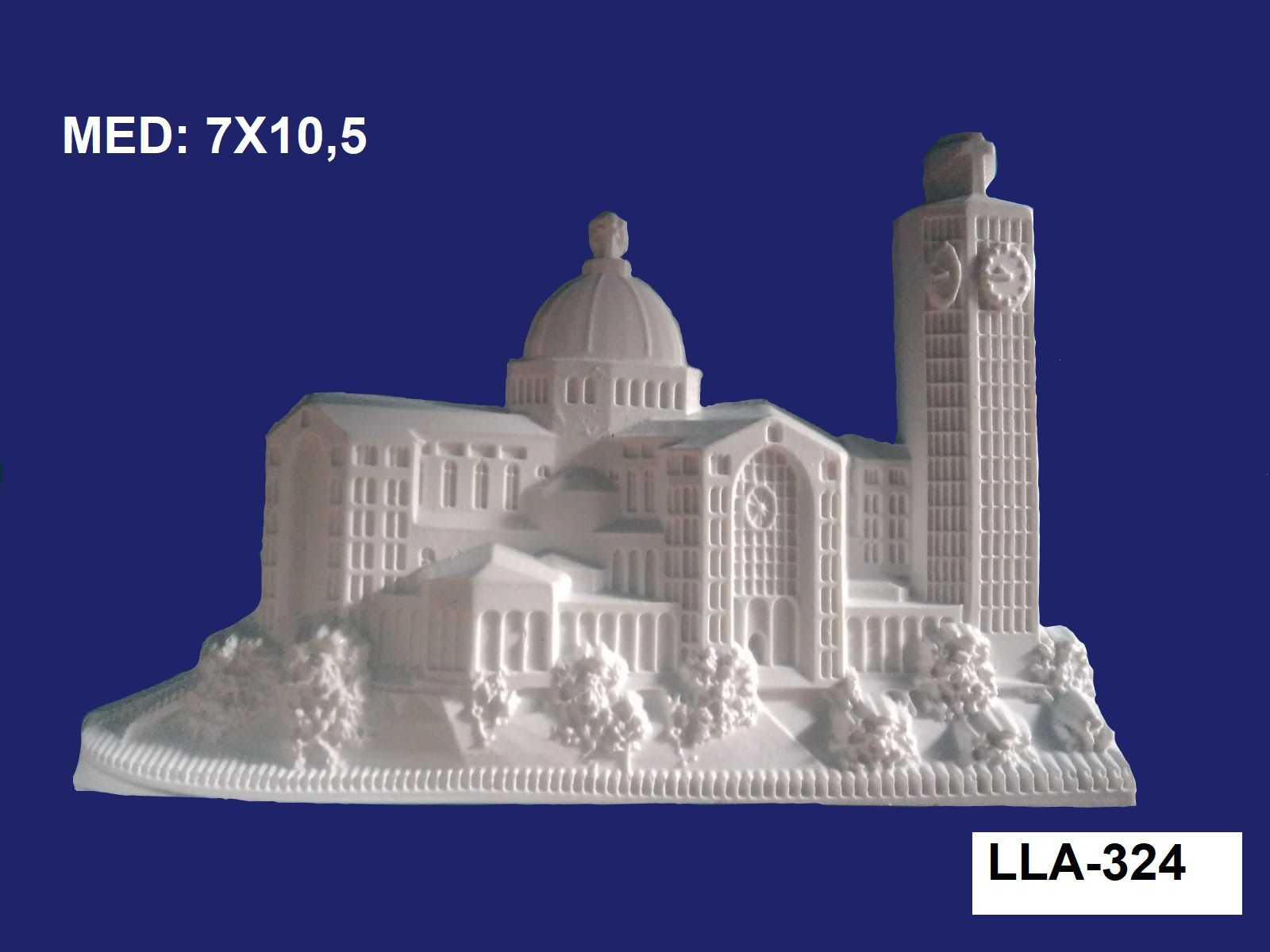 LLA-324 APLIQUE BASILICA DE APARECIDA 7X10,5CM