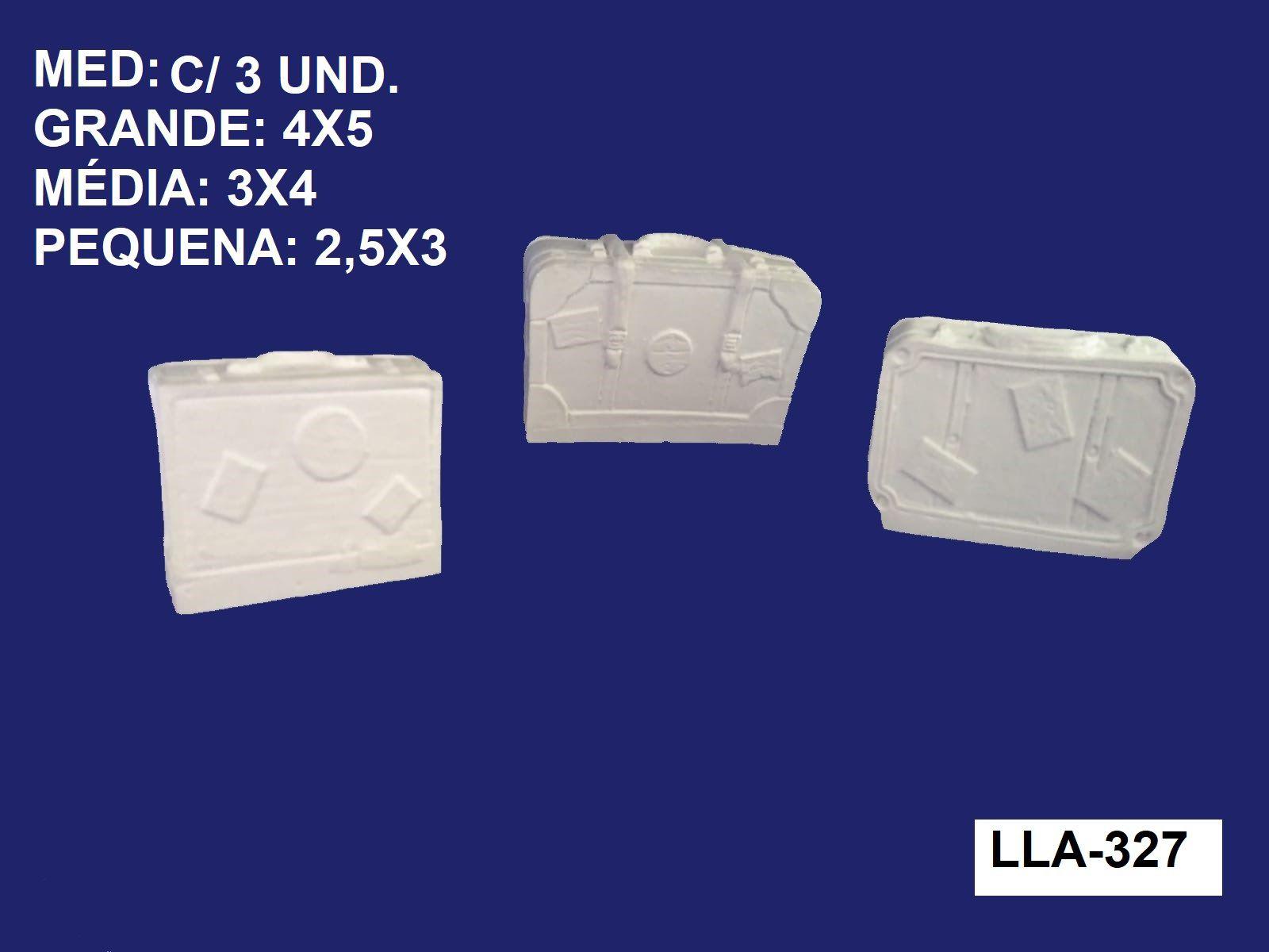 LLA-327 KIT DE MALAS 3D C/ 3 UND. 4X5CM