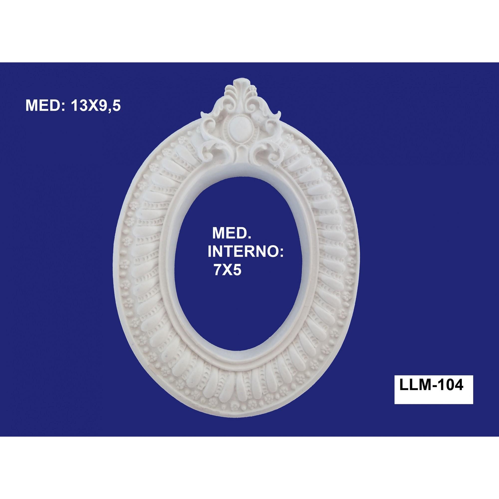 LLM-104 MOLDURA 13X9,5 INT: 07X05CM