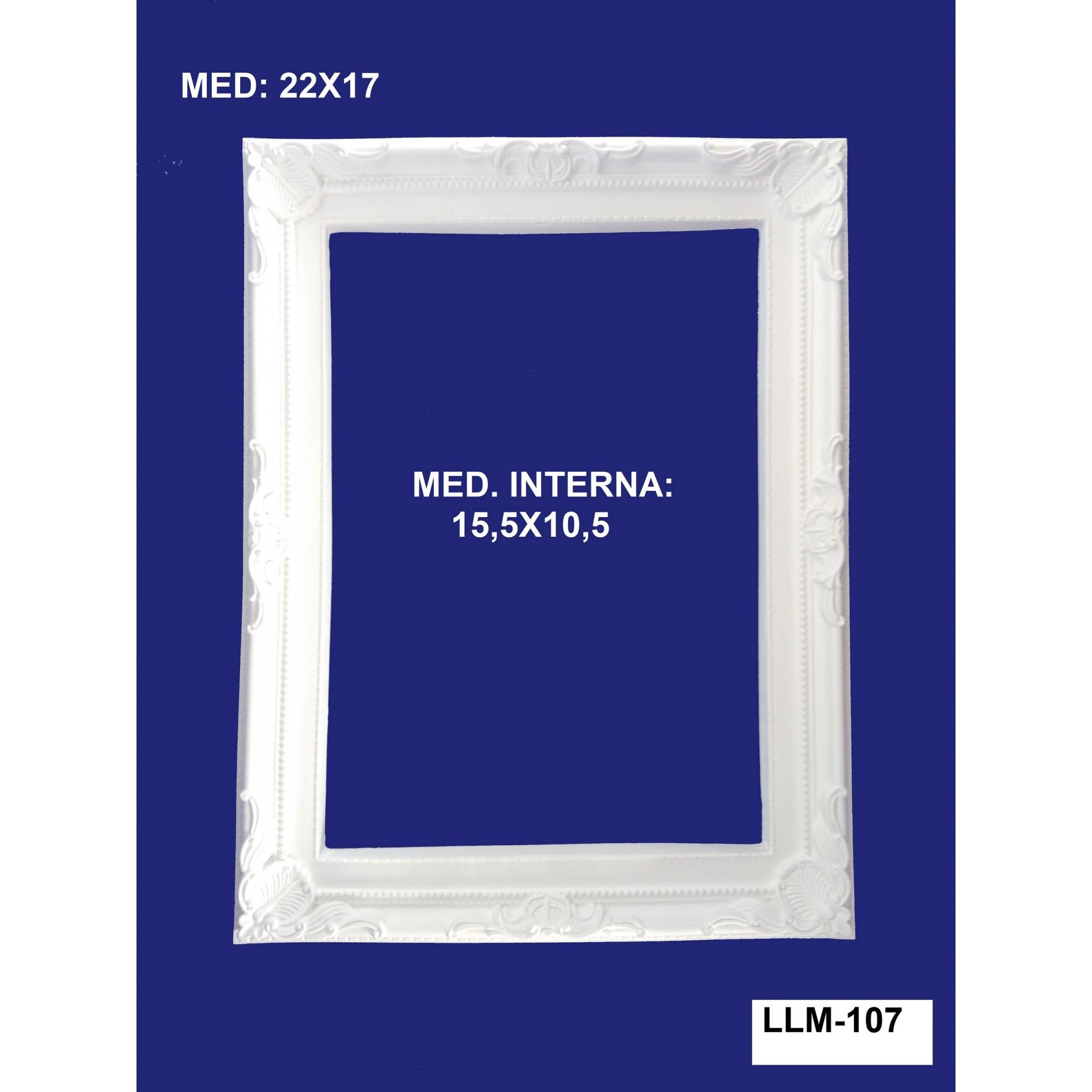 LLM-107 MOLDURA 22X17 INT: 15,5X10,5CM