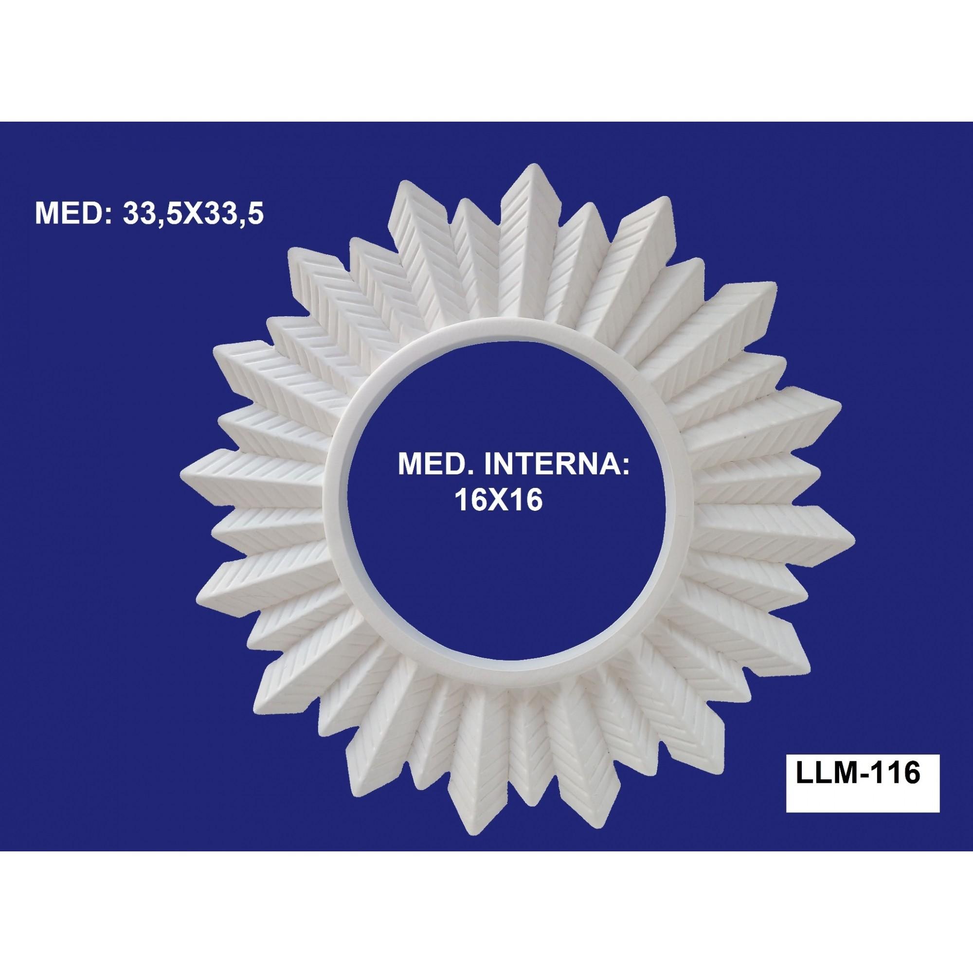 LLM-116 MOLDURA 33,5 X 33,5 INT: 16 X 16CM