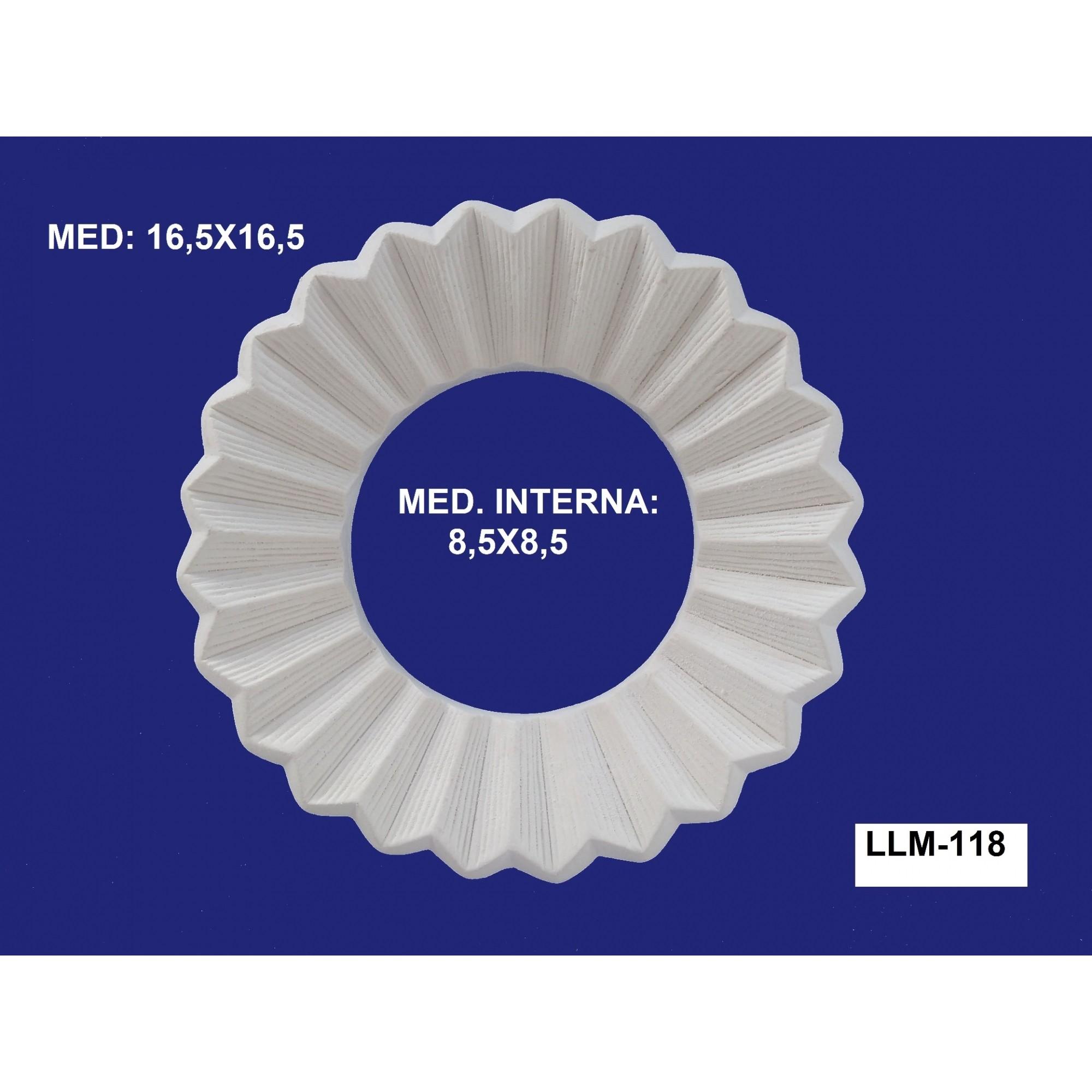LLM-118 MOLDURA 16,5 X 16,5 INT:8,5 X8,5CM