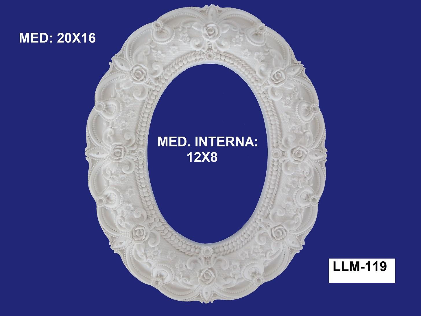 LLM-119 MOLDURA 20X16 INT: 12X08CM