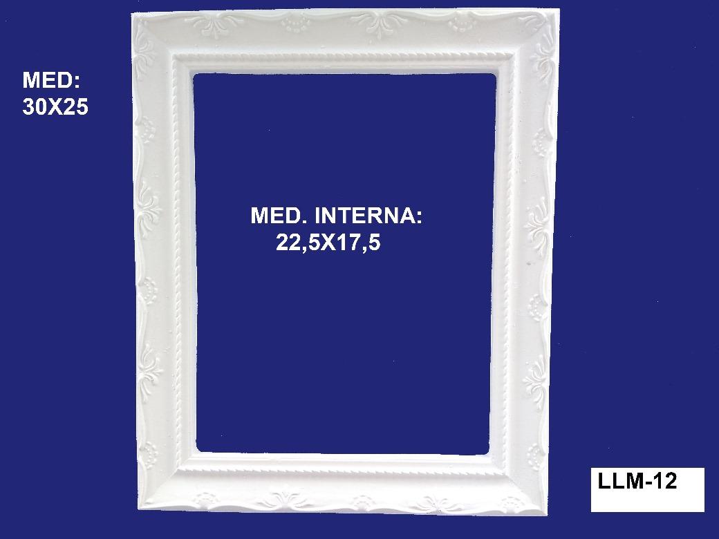 LLM-12 MOLDURA DE RESINA 30X25CM INT:22,5 X 17,5CM