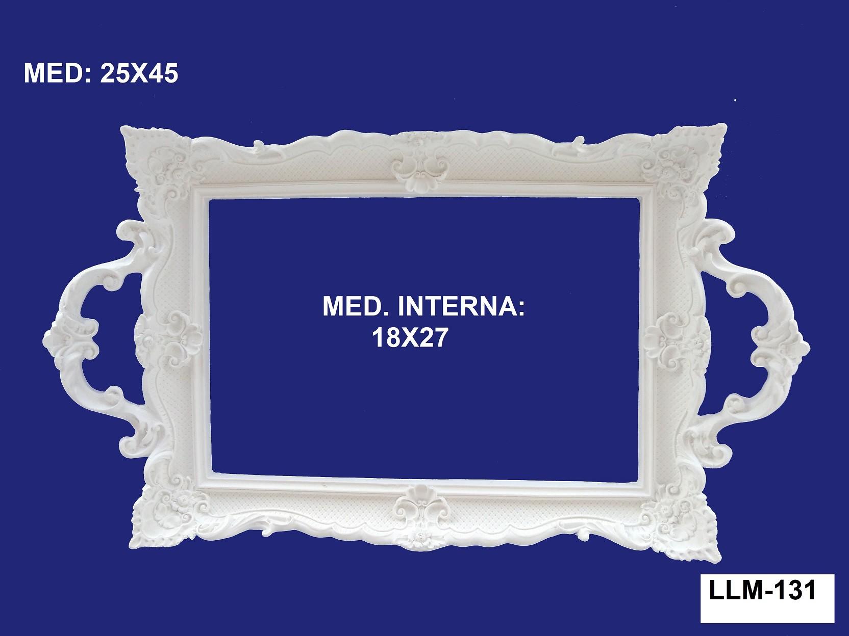 LLM-131 BANDEJA 25X45 INT: 18X27CM