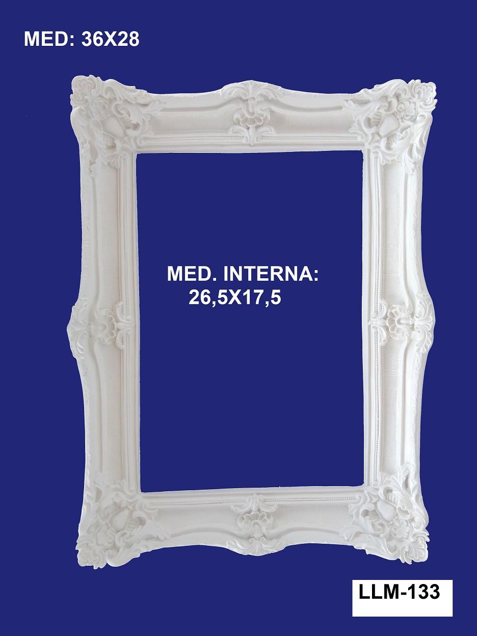 LLM-133 MOLDURA 36X28 INT: 26,5X17,5CM