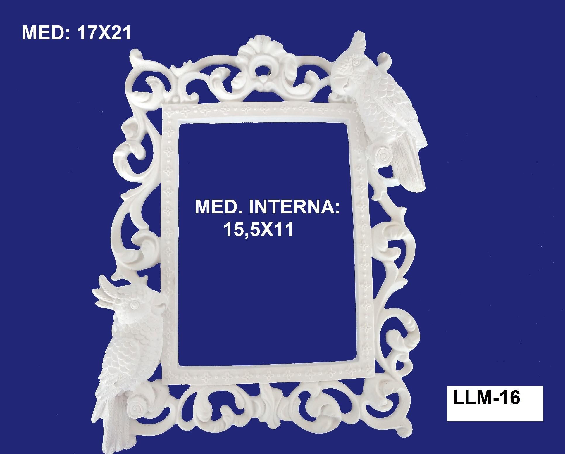 LLM-16 MOLDURA 17 X 21INT: 15,5 X 11CM