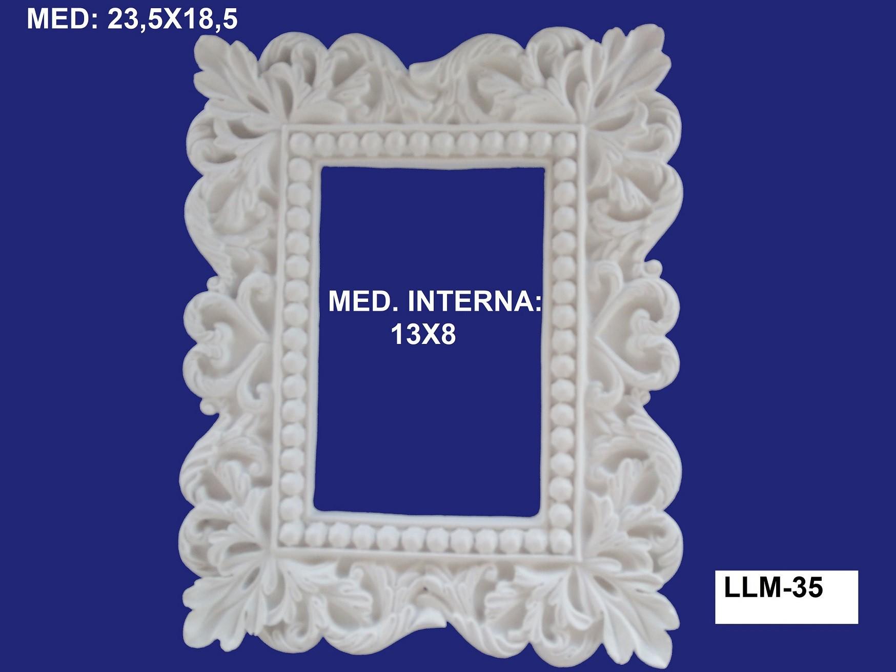 LLM-35 MOLDURA 23,5X18,5 INT: 13X08CM