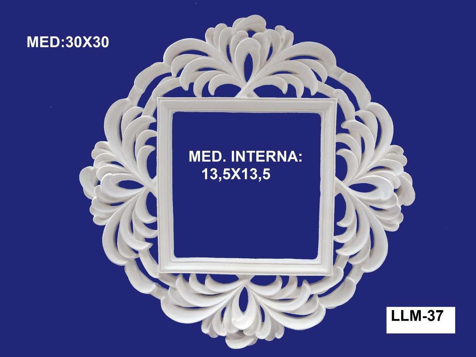 LLM-37 MOLDURA 30 X 30 INT: 13,5 X 13,5CM