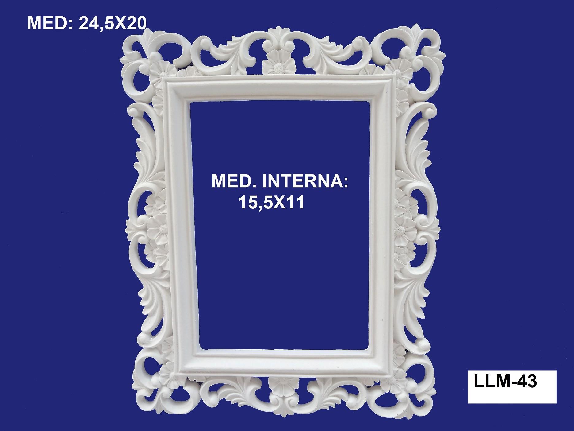LLM-43 MOLDURA 24,5X20 INT: 15,5X11CM