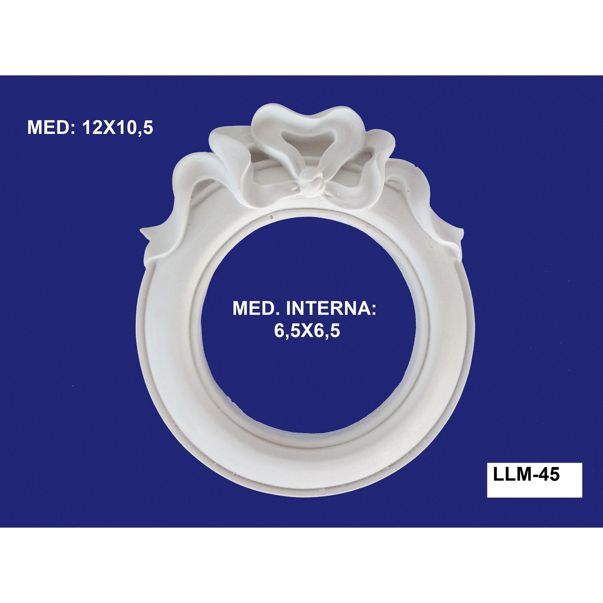 LLM-45 MOLDURA 12X10,5 INT: 6,5X6,5CM