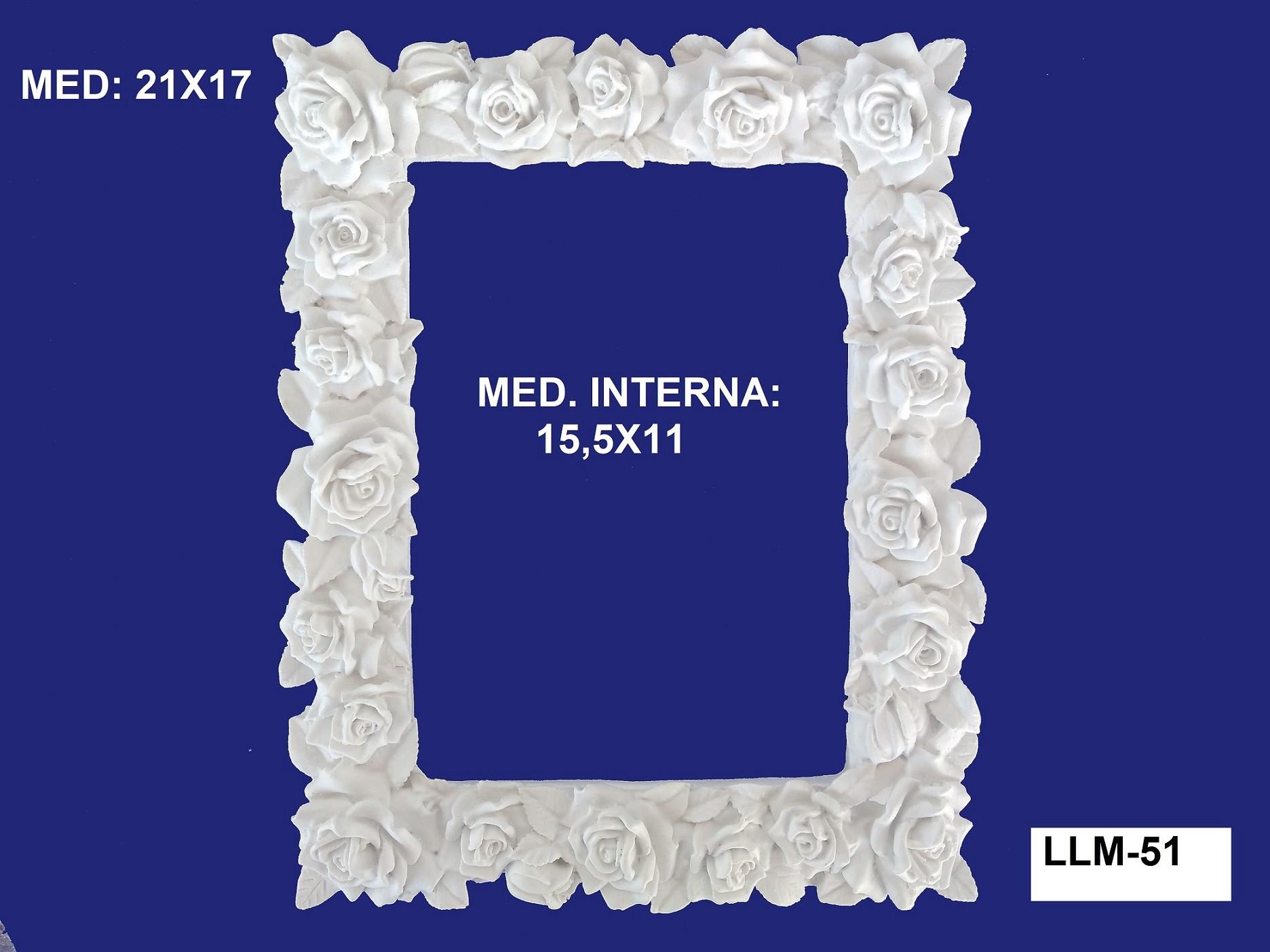 LLM-51 MOLDURA 21X17 INT: 15,5X11CM