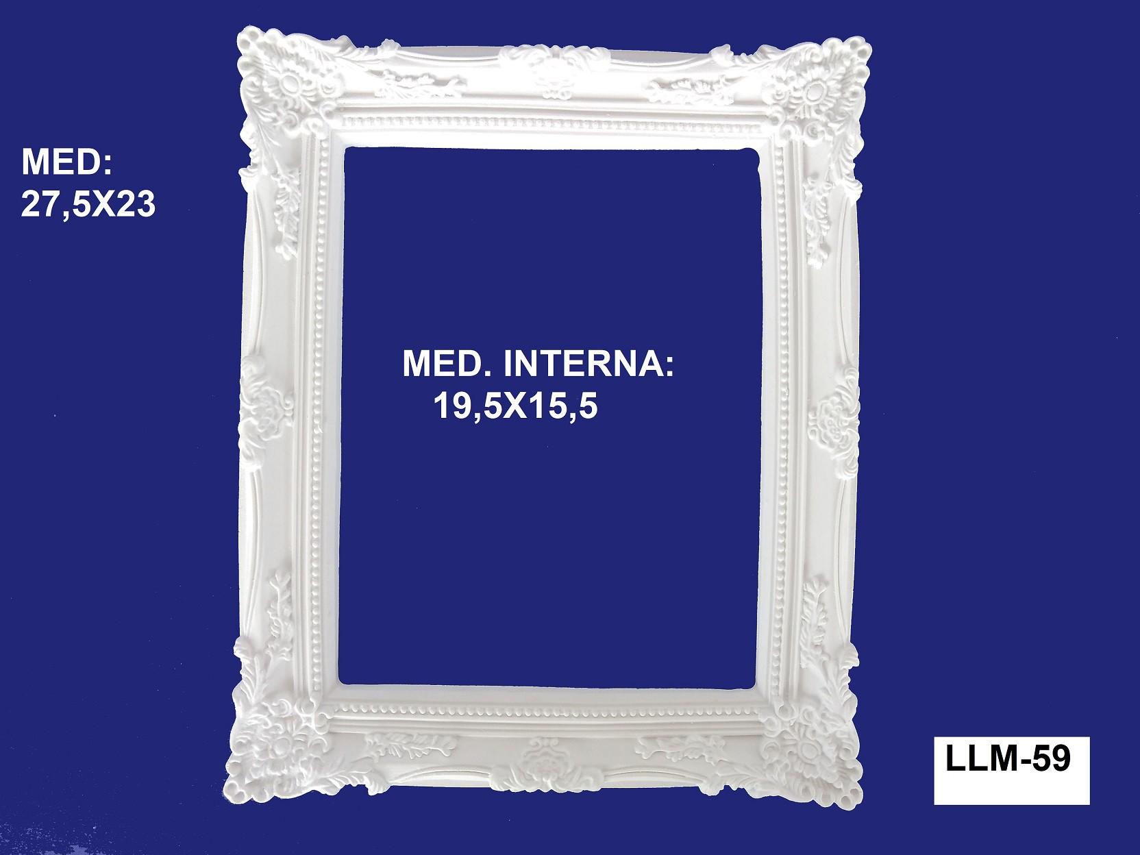 LLM-59 MOLDURA 27,5X23 INT: 19,5X15,5CM