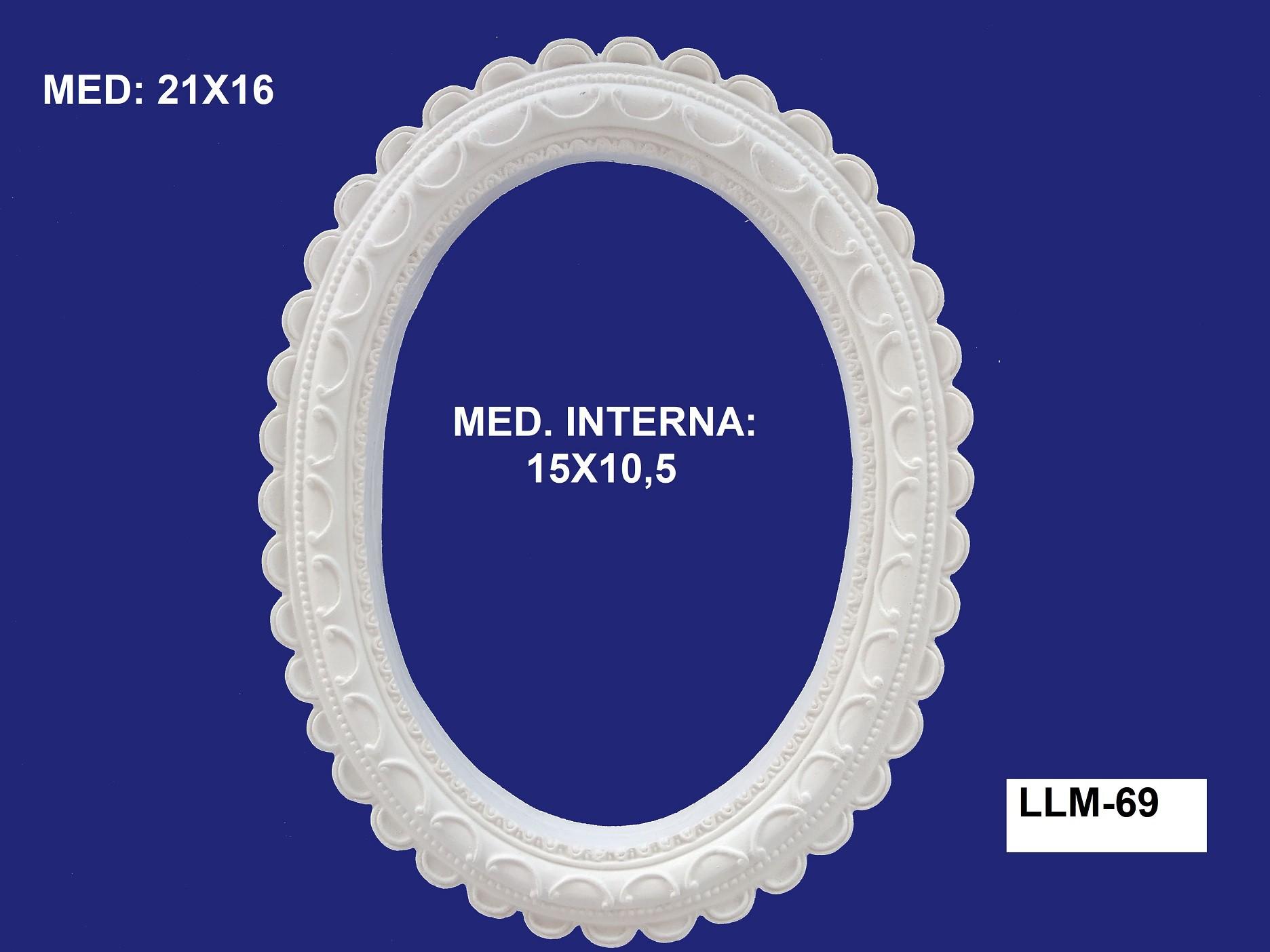 LLM-69 MOLDURA 21X16 INT: 15X10,5CM