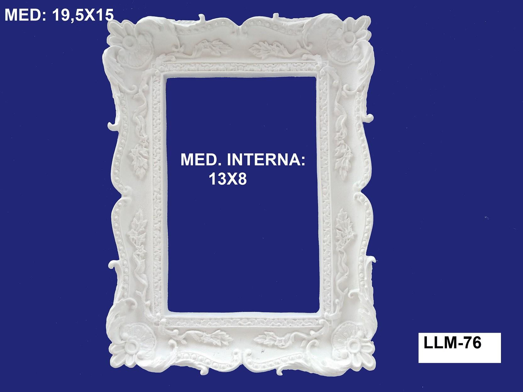LLM-76 MOLDURA 19,5X15 INT: 13X08CM