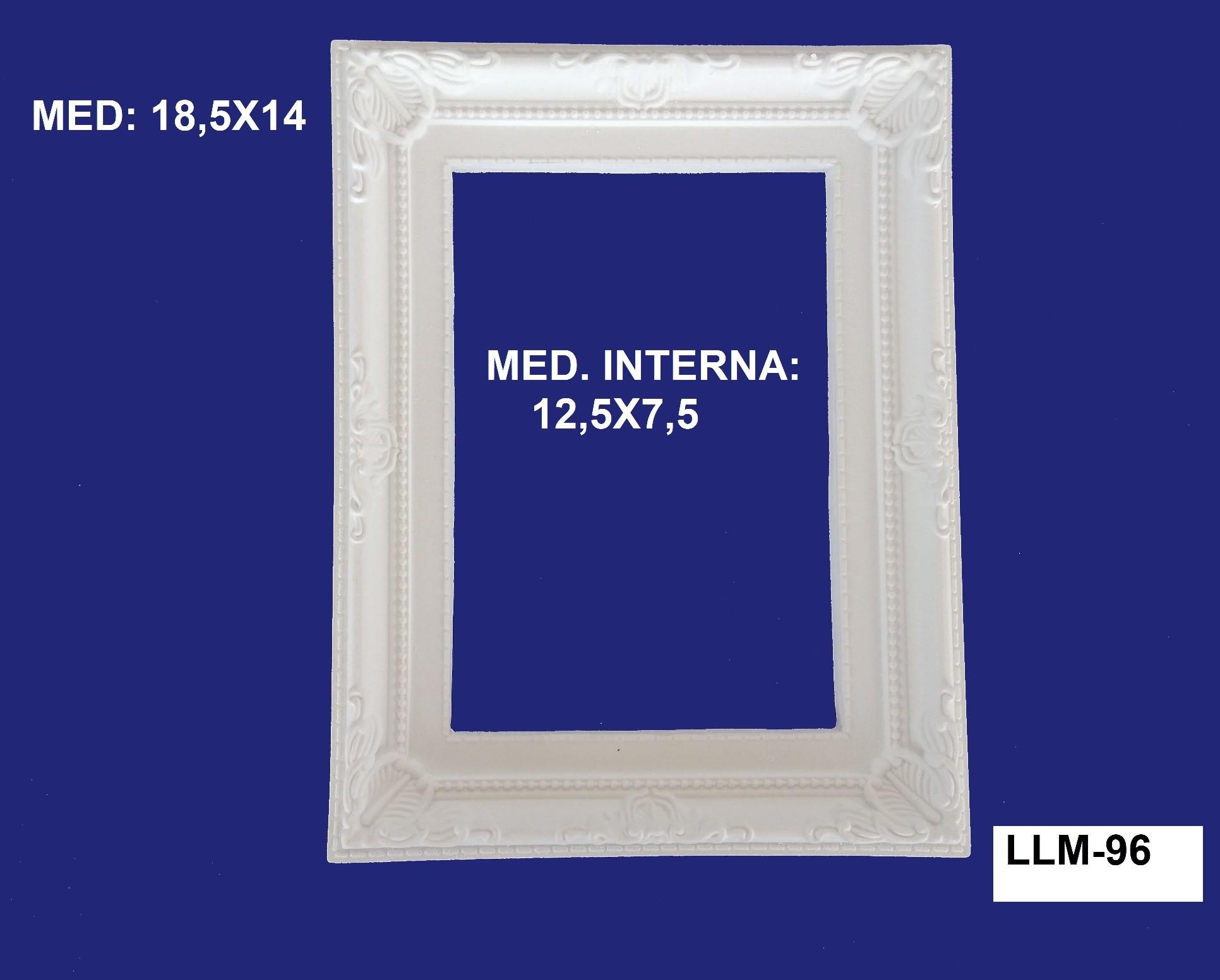 LLM-96 MOLDURA 18,5 X 14 INT:12,5 X 7,5CM