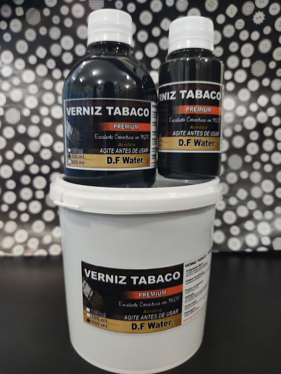VERNIZ TABACO PREMIUM 100/300/900ml