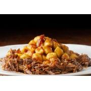 Massa Pronta - Nhoque Batata Doce com Carne de Panela