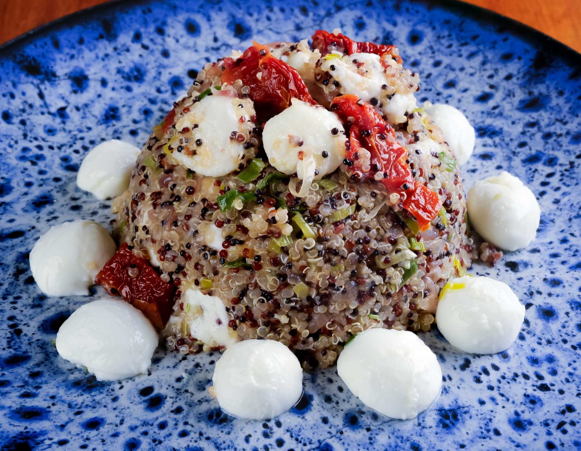 Quinoa Caprese