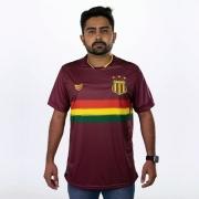 Camisa Sampaio Corrêa Goleiro Vinho 2021 Super Bolla Masculina