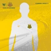 Pré-Venda Camisa Oficial Sampaio Corrêa Jogo II 2021Masculina