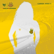 Pré-Venda Camisa Oficial Sampaio Corrêa Jogo II 2021 Feminina