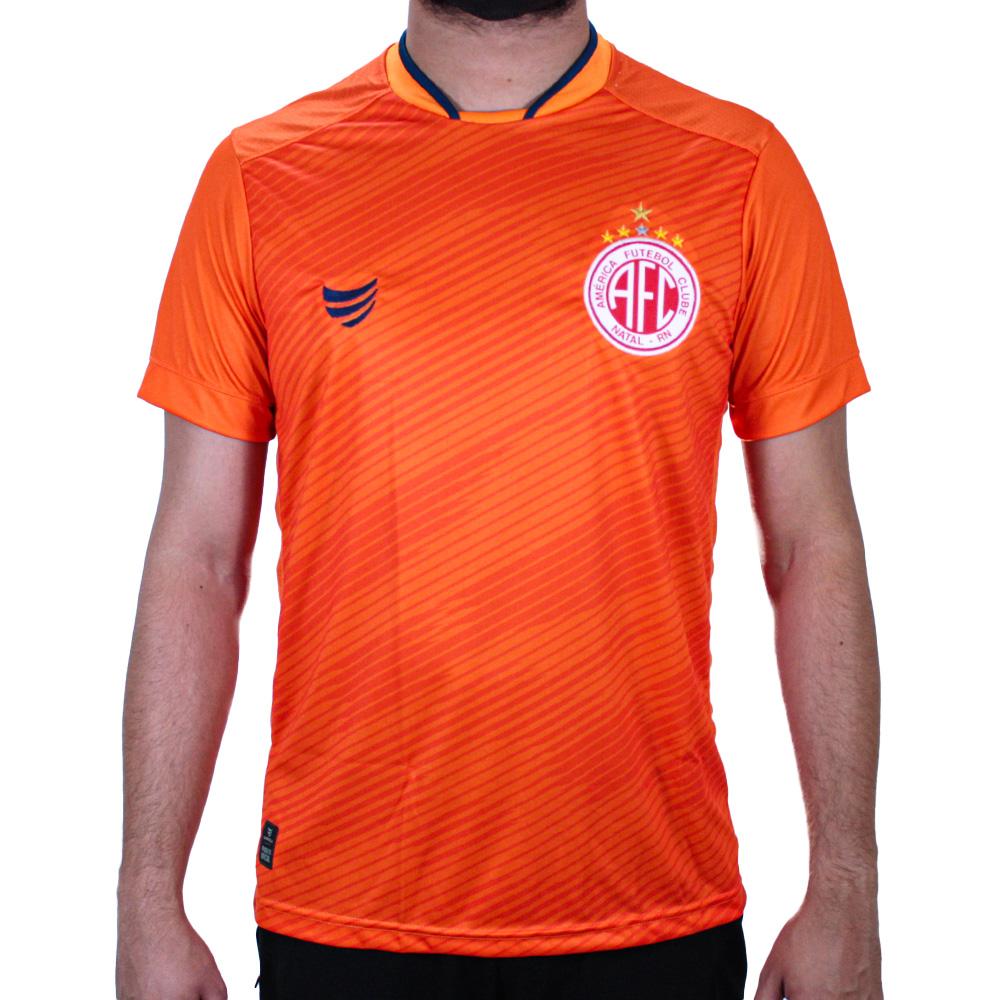 Camisa América de Natal Goleiro Laranja 2021 Super Bolla Masculina