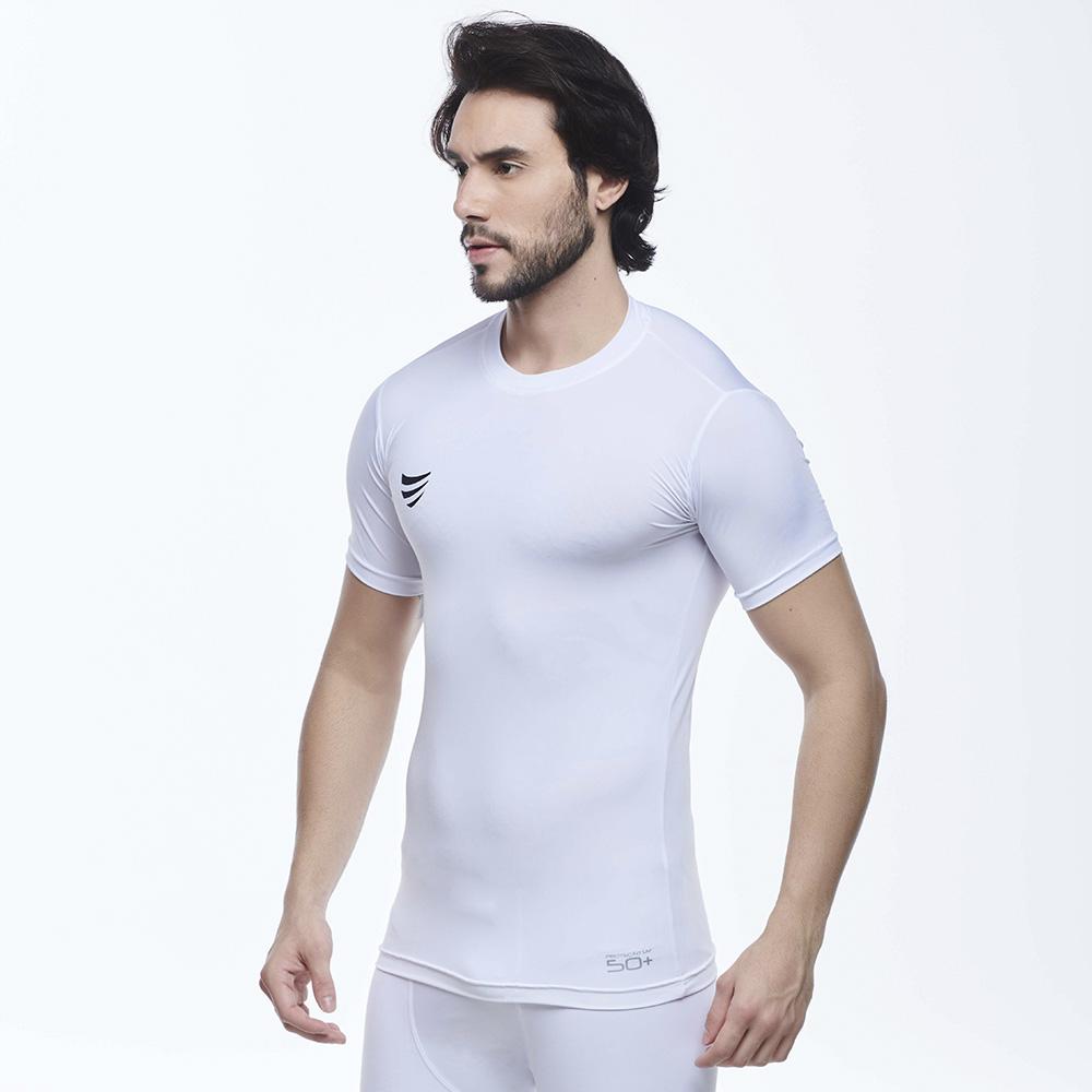Camisa de Compressão Manga Curta