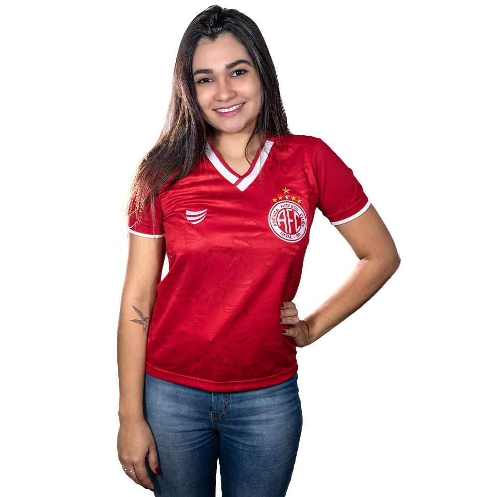 Camisa América de Natal Jogo I 2021 Super Bolla Feminina