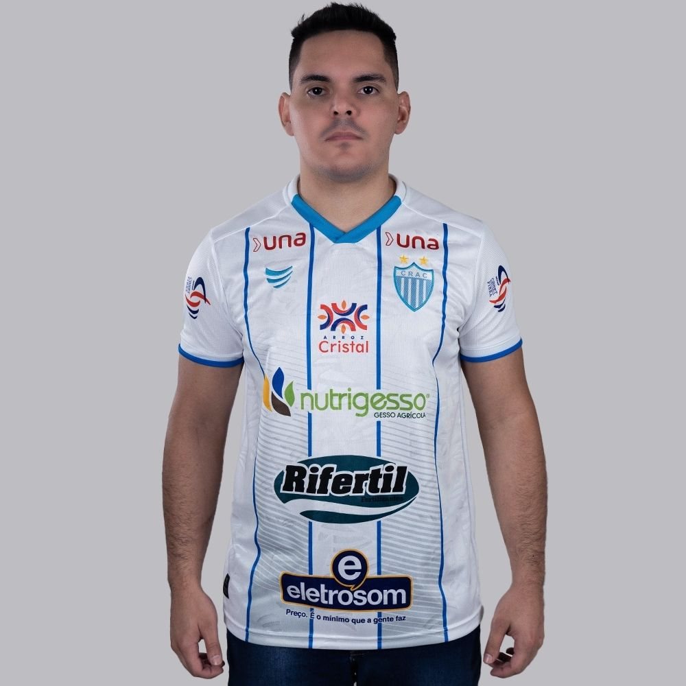 Camisa CRAC Jogo II 2021 Super Bolla Masculina