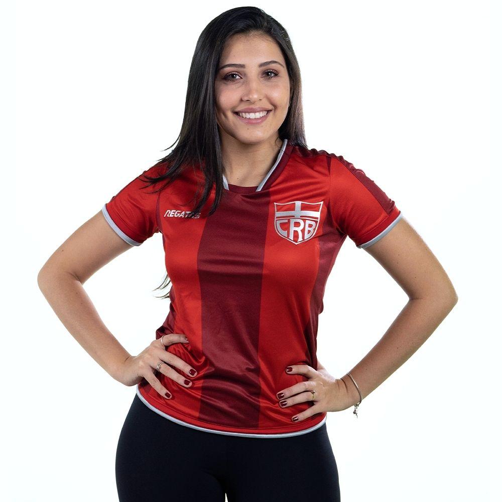 Camisa Oficial CRB Jogo III 2021 Feminina