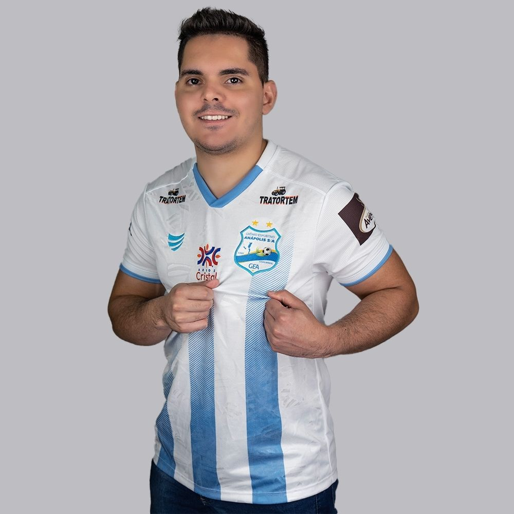 Camisa Grêmio Anápolis Jogo I 2021 Super Bolla Masculina