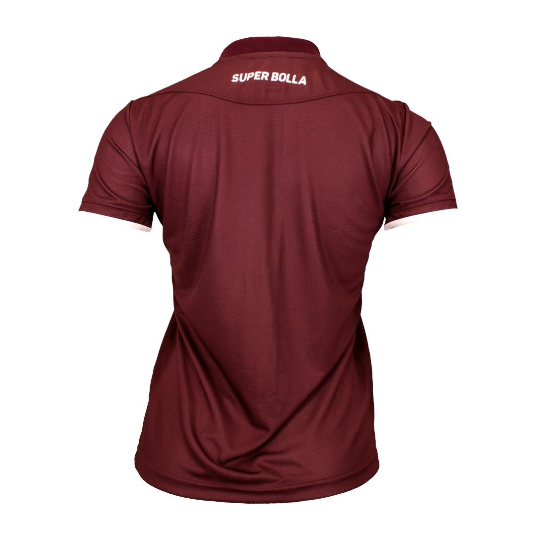 Camisa Oficial Juventus Feminina Sou Juventino Jogo I 2021