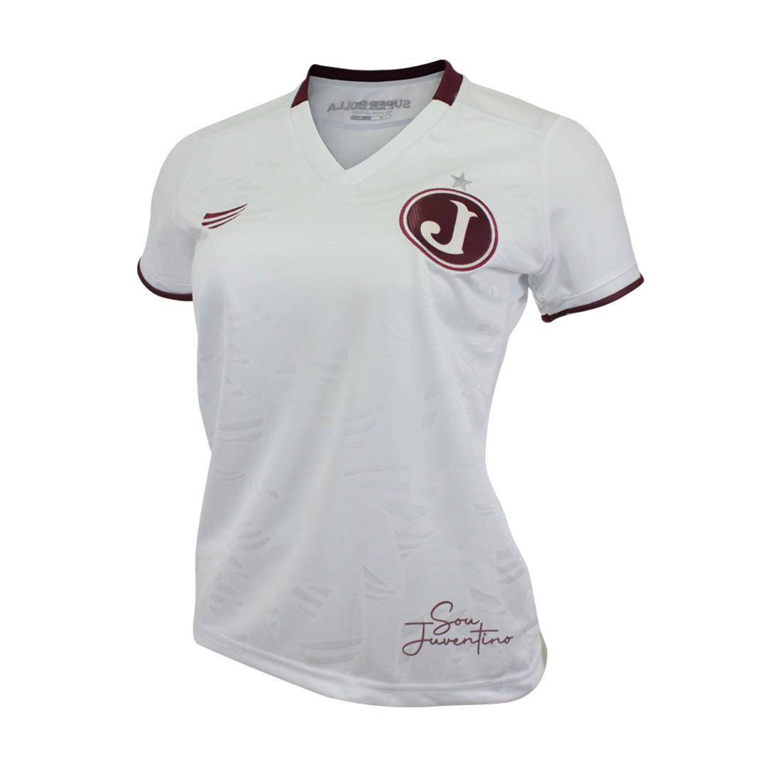 Camisa Oficial Juventus Feminina Sou Juventino Jogo II 2021