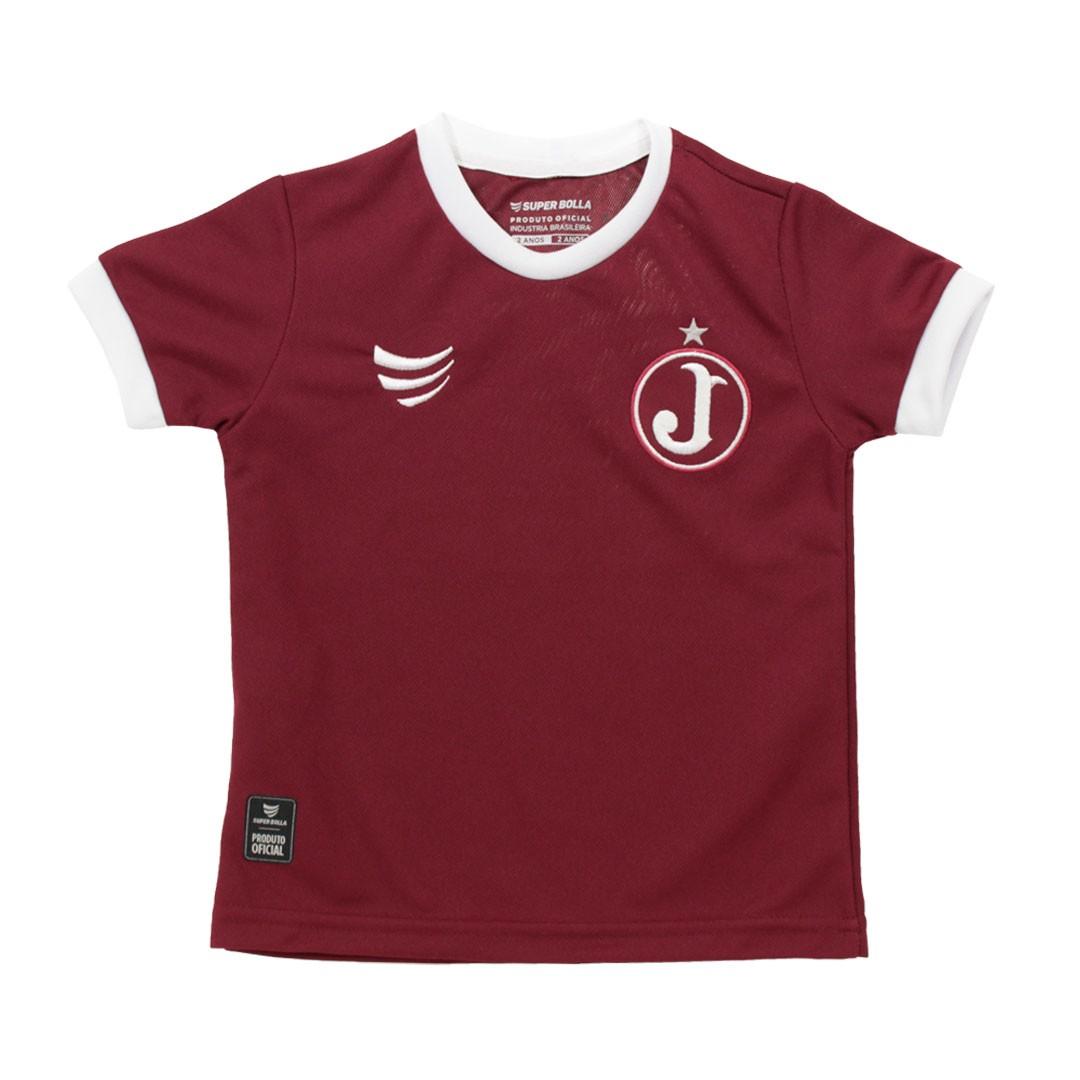 Camisa Juventus Torcedor 2021 Super Bolla Infantil
