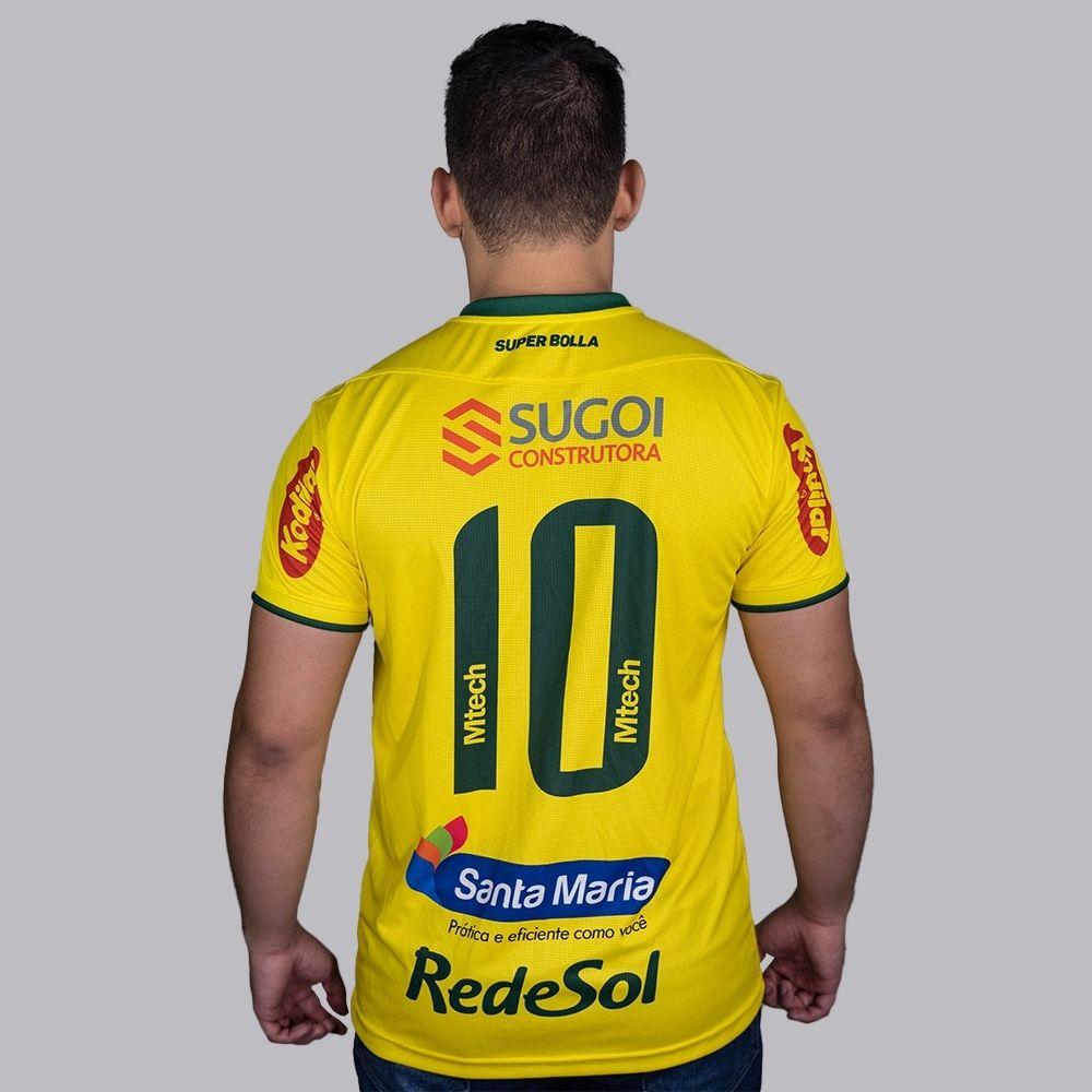 Camisa Mirassol  Jogo I 2021 Super Bolla Masculina