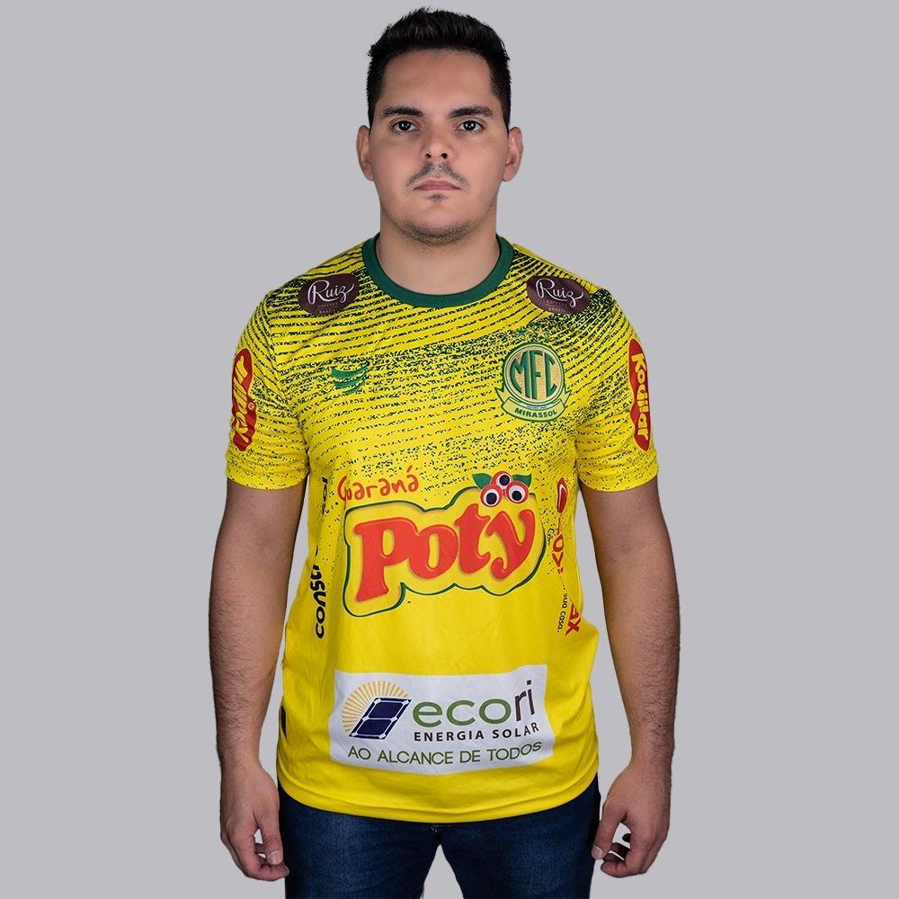 Camisa Oficial Mirassol Pré-Jogo 2021 Masculina
