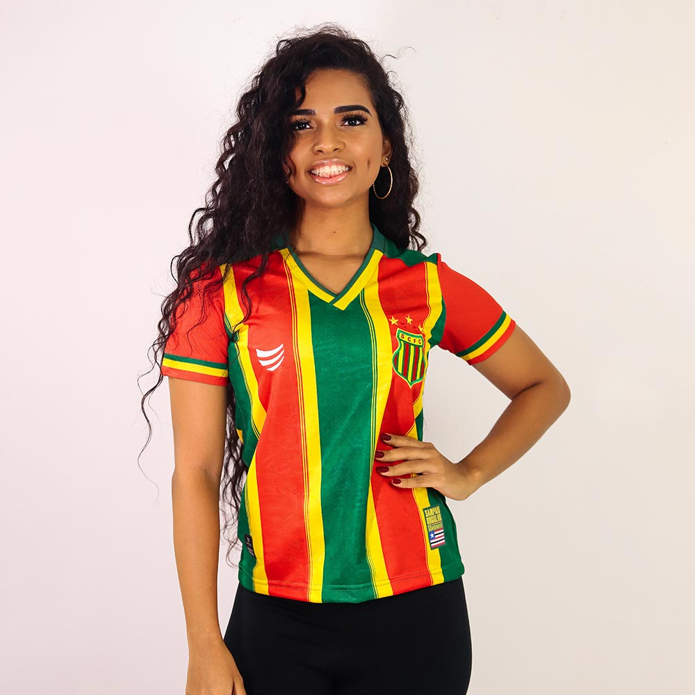 Camisa Sampaio Corrêa Jogo I 2021 Super Bolla Feminina
