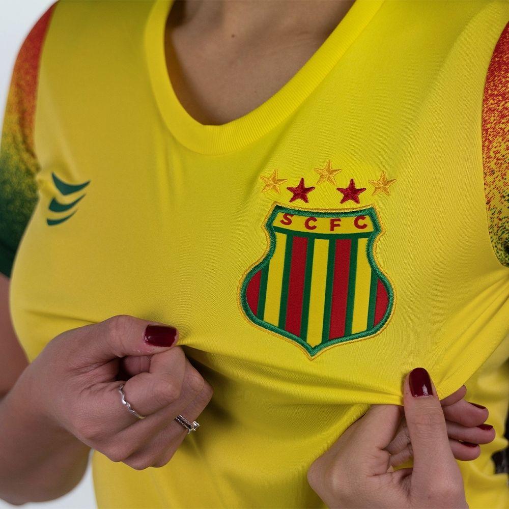Camisa Sampaio Corrêa Pré-Jogo 2021 Super Bolla Feminina