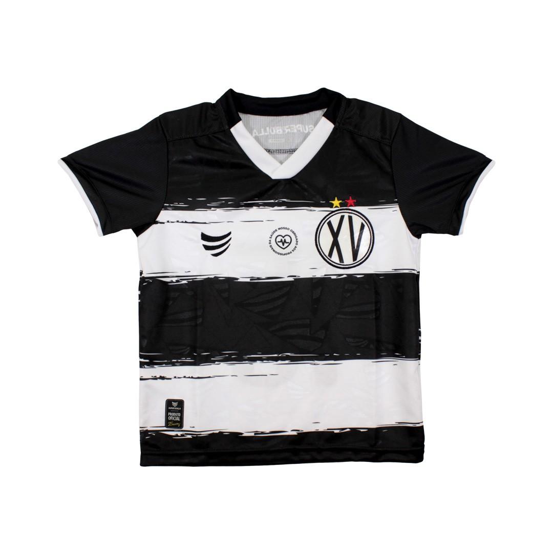 Camisa Oficial XV De Piracicaba Infantil Jogo I 2021