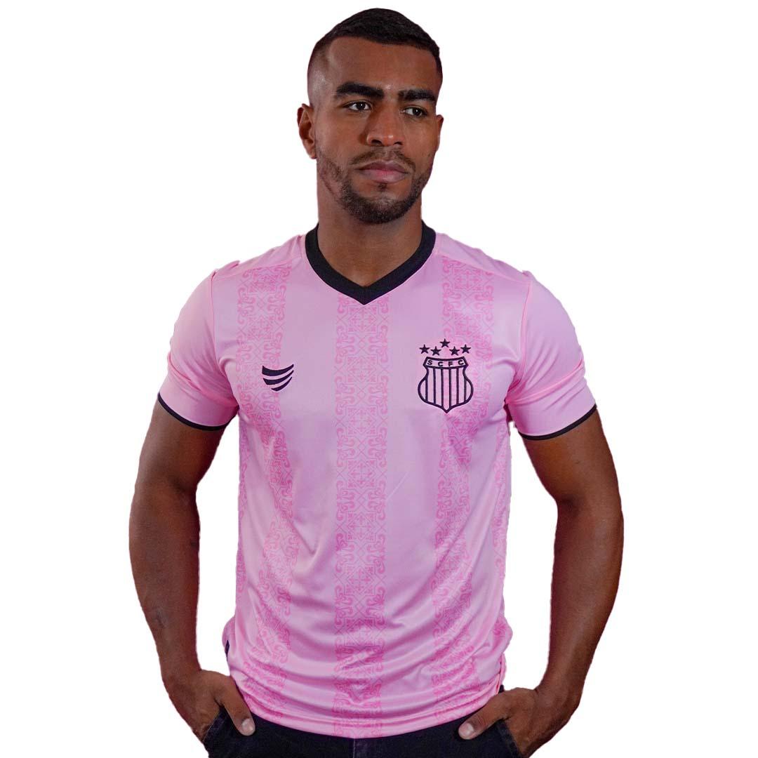 Camisa Sampaio Corrêa Outubro Rosa 2021 Masculina