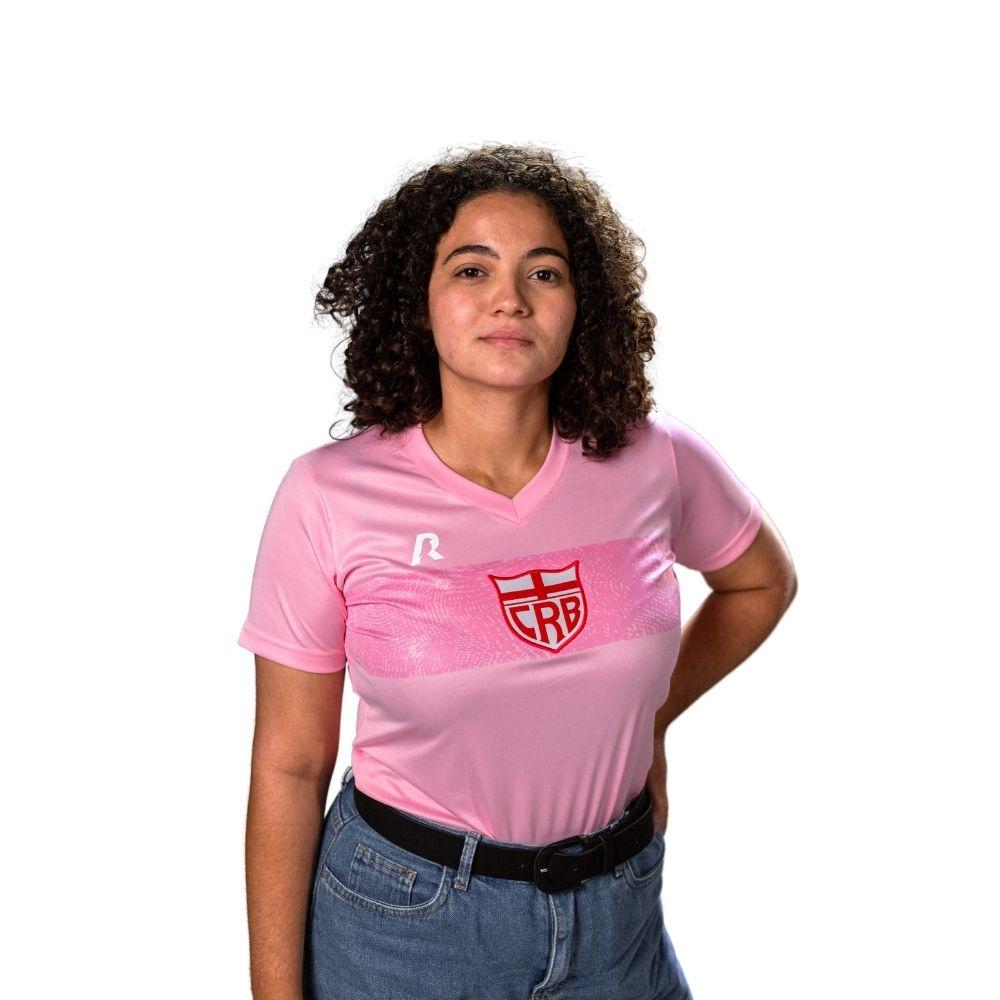 PRÉ-VENDA Camisa CRB Outubro Rosa 2021 Feminina