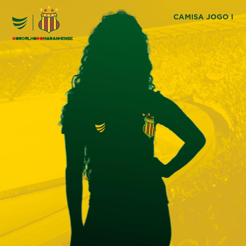 Pré-Venda Camisa Oficial Sampaio Corrêa Jogo I 2021 Feminina