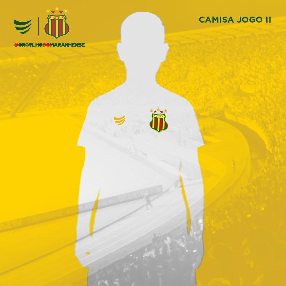 Pré-Venda Camisa Oficial Sampaio Corrêa Jogo II 2021 Juvenil