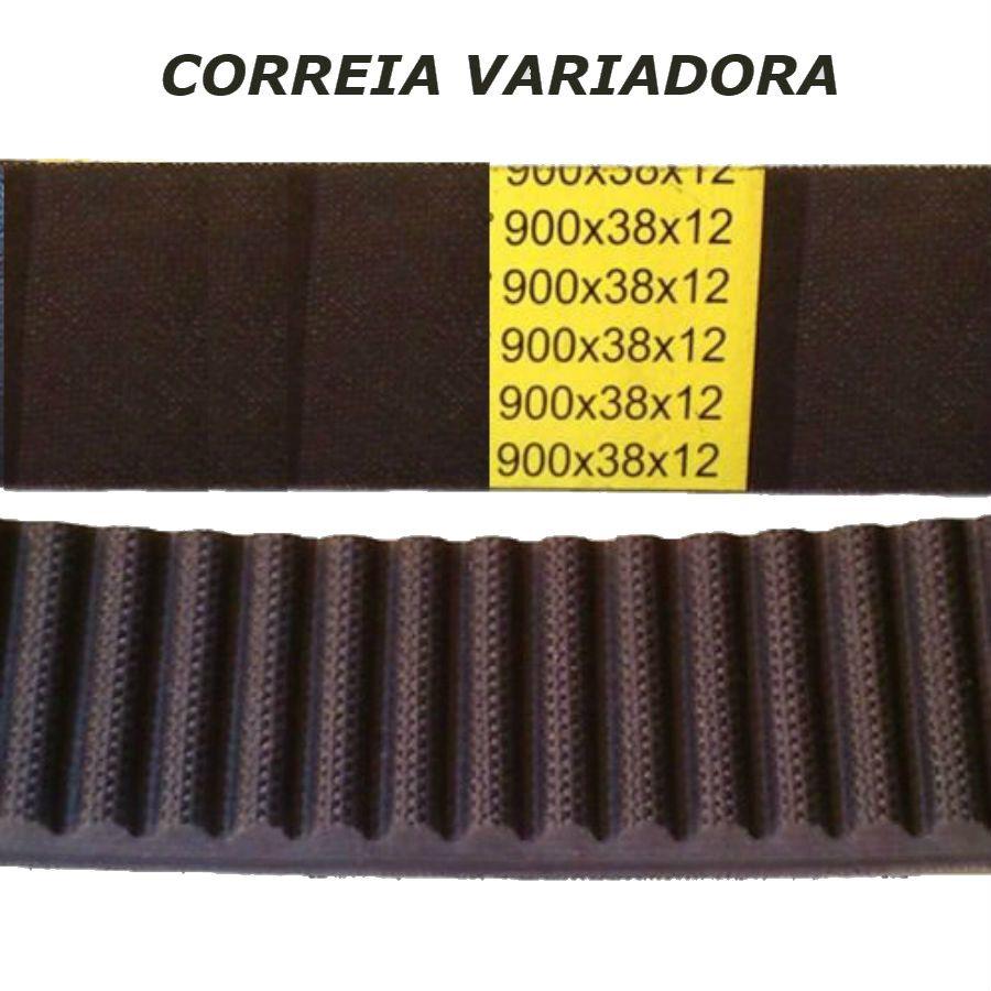 02 Pç Correia Variadora Fresadora ISO 30 40 (920 X 38 x 12)