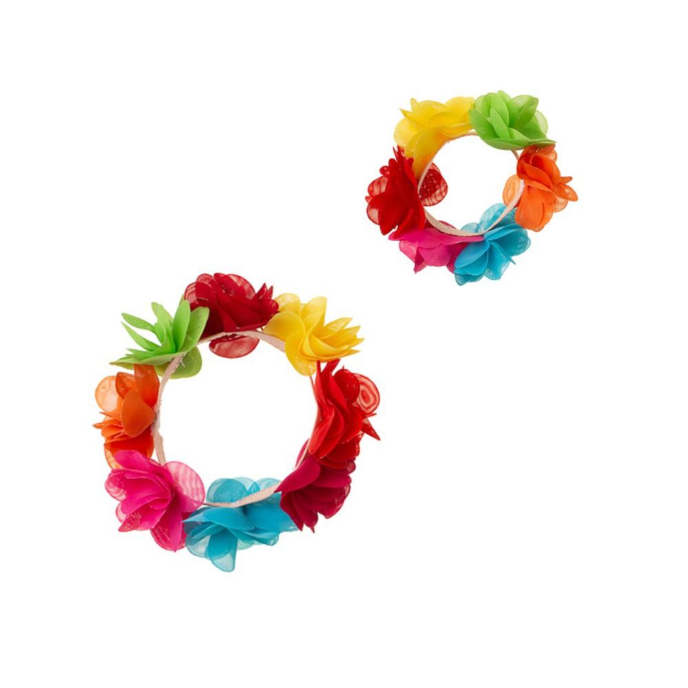 Conjunto Floral Coqui + Pulseira
