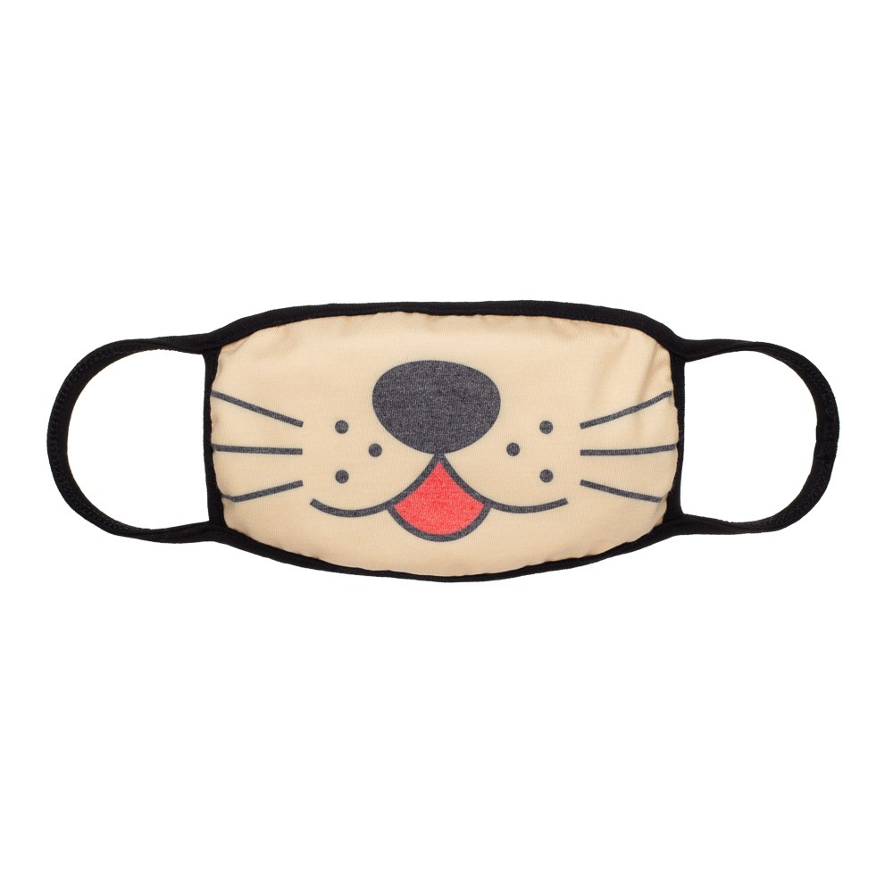 Máscara Protetora Divertida Infantil Dog